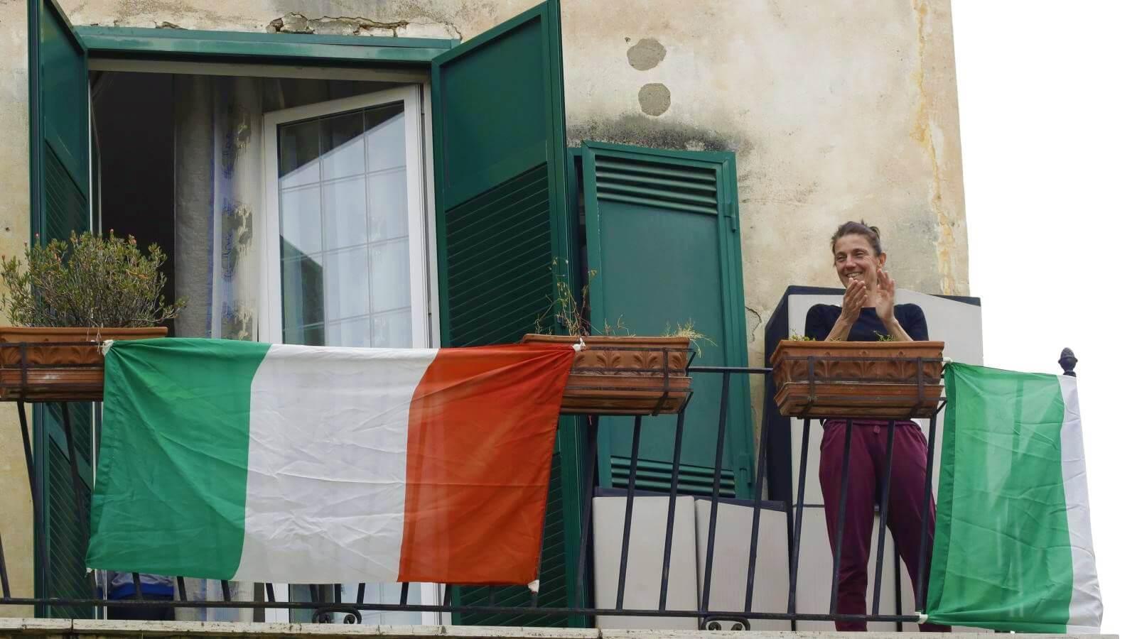 италия во время карантина