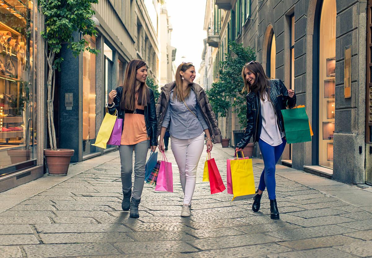 шоппинг в турине