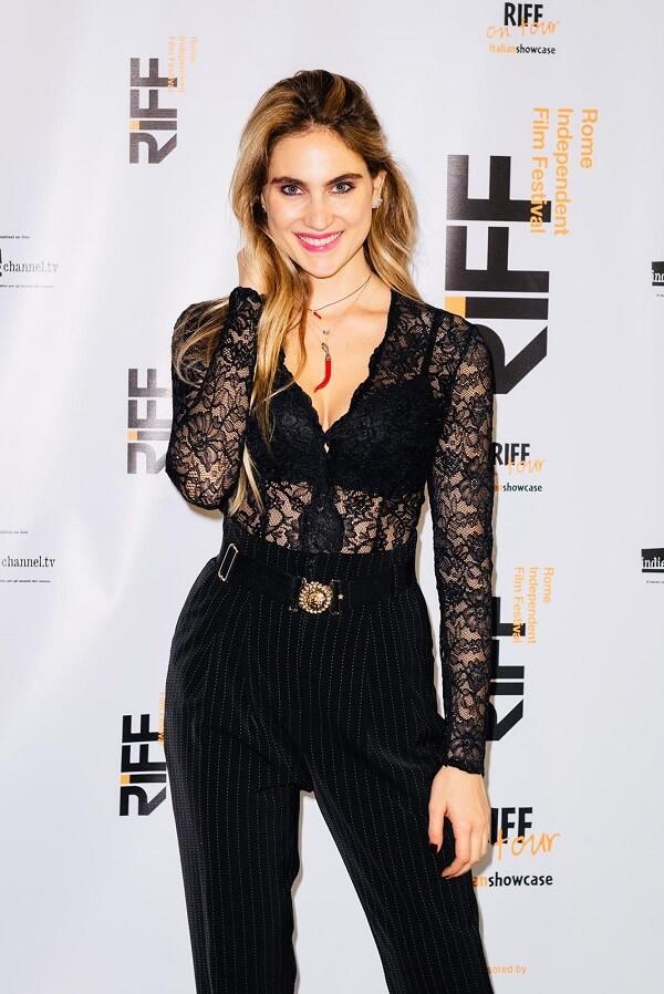 Мириам Галанти на кинофестивале RIFF Awards в Риме