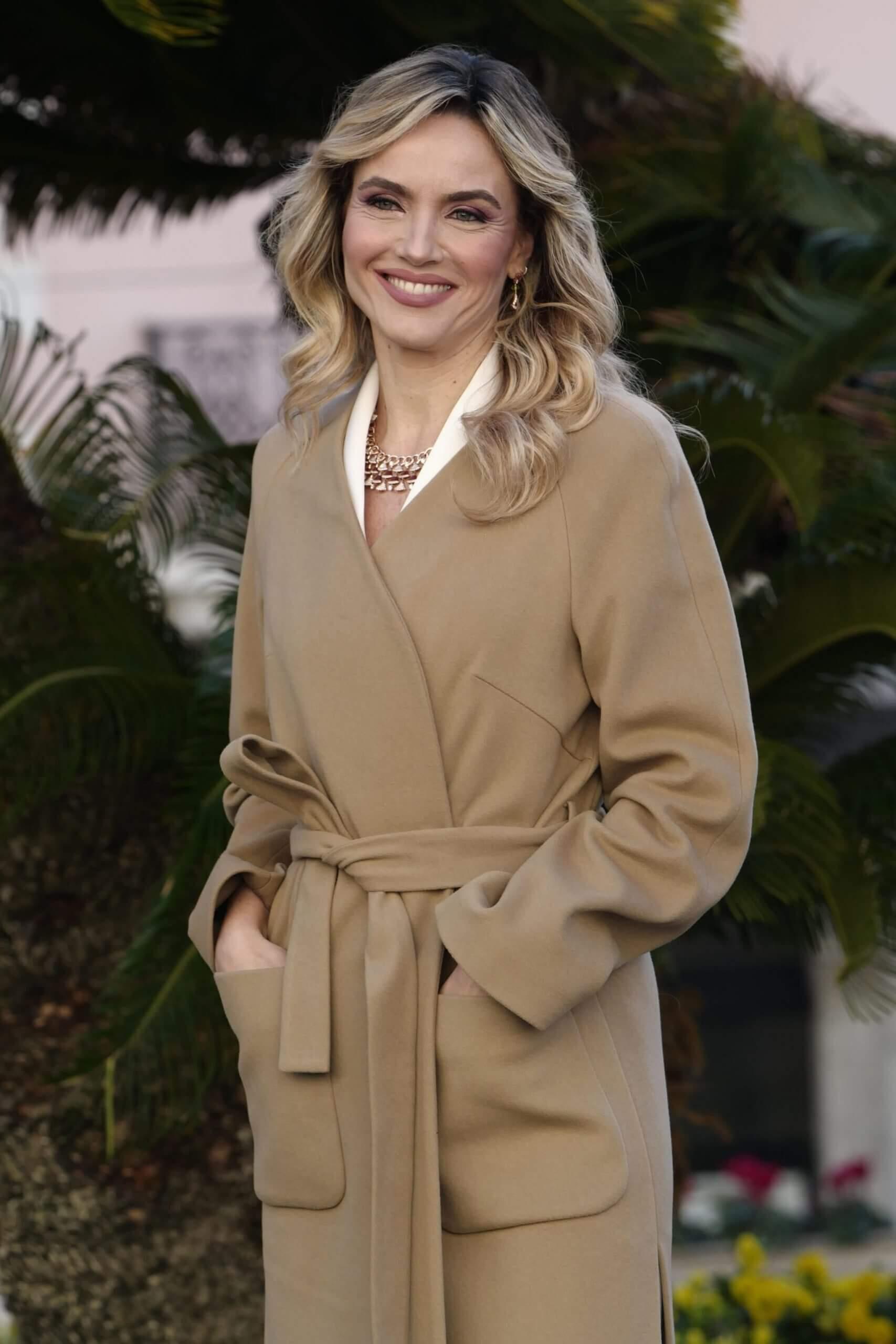 Римлянка Лаура Кименти, журналист, популярная телеведущая