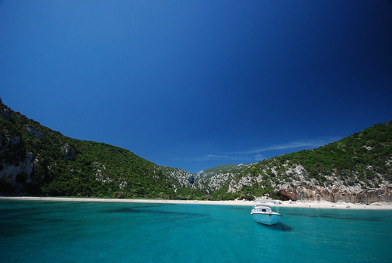 Cala Luna пляжи Италии