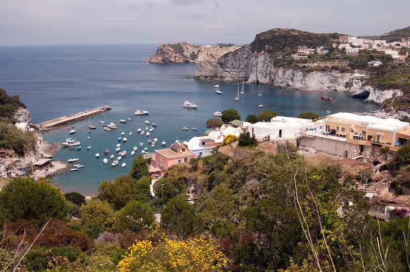 Cala Feola пляжи Италии