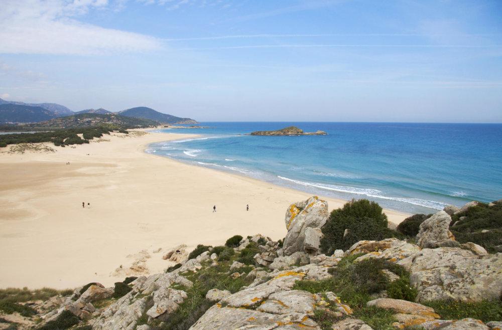 Su Giudeu пляжи Италии