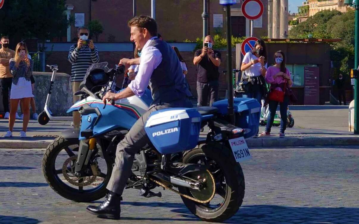 Том Круз в Риме