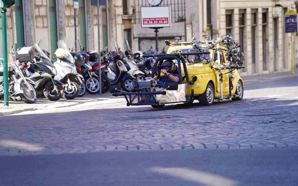 съемки Миссия невыполнима в Риме