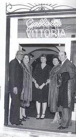 Galleria Vittoria 1980 год