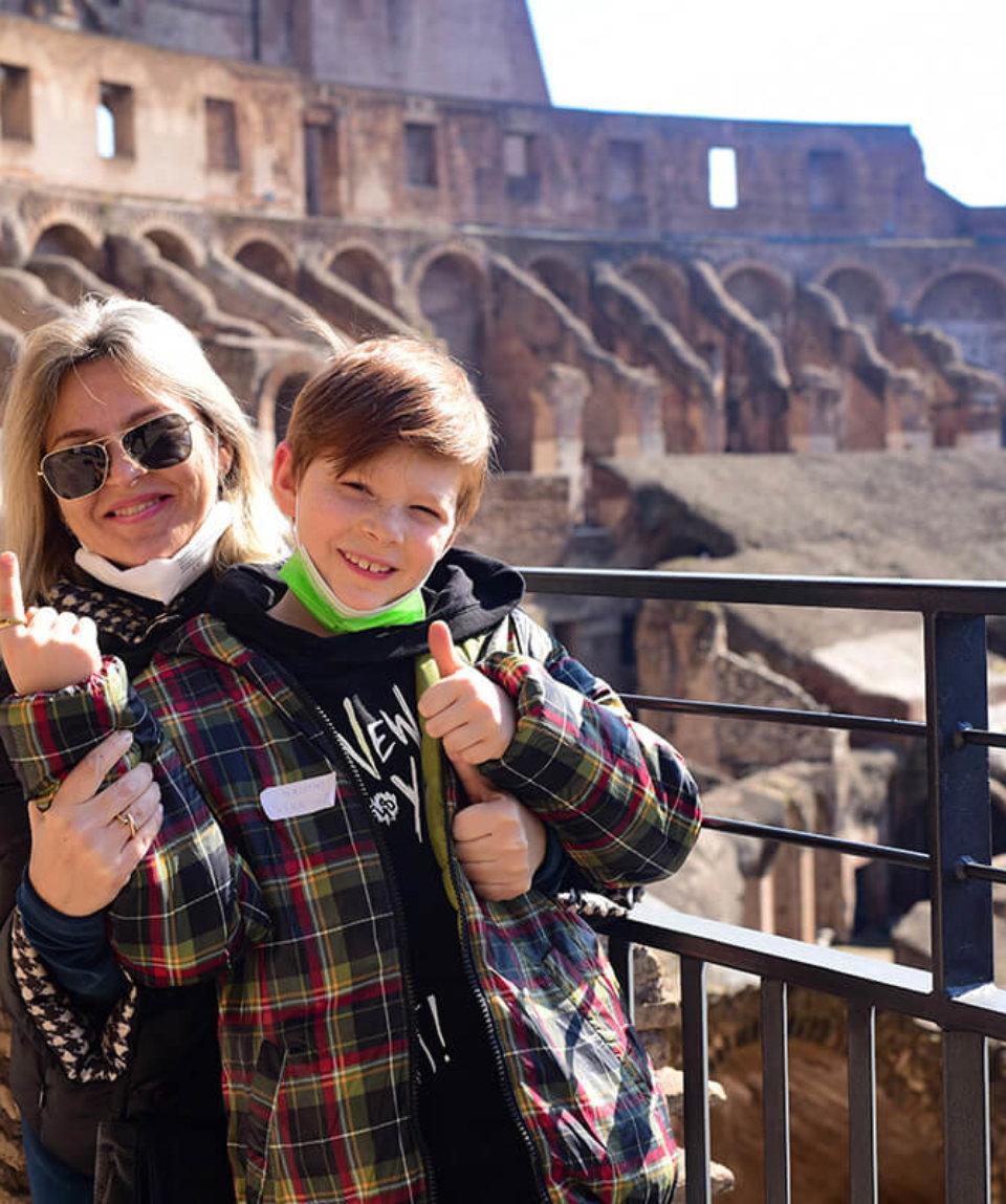 квест в Колизее для детей