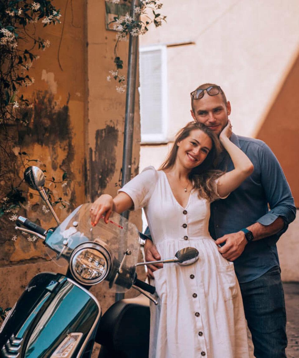 Романтический уикенд в Риме