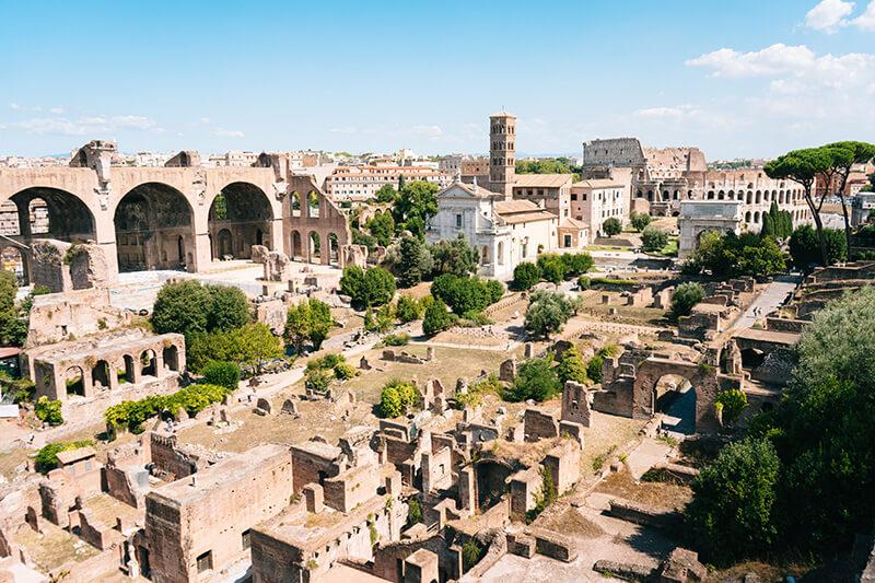 римский форум сегодня