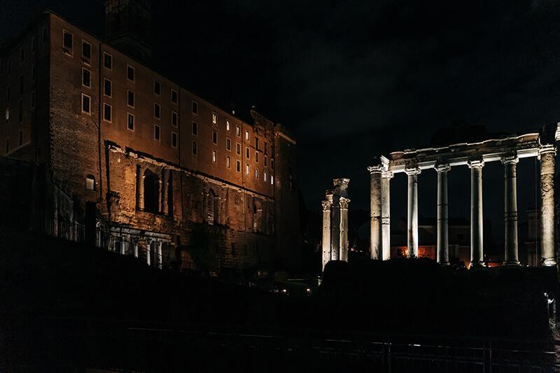 Храм Сатурна Римский форум