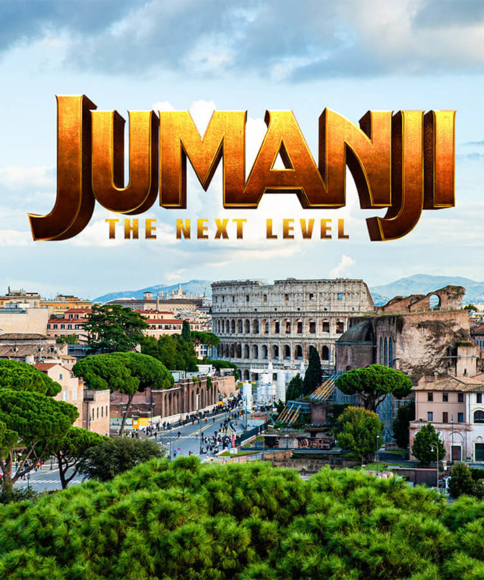 Джумаджи квест в Риме