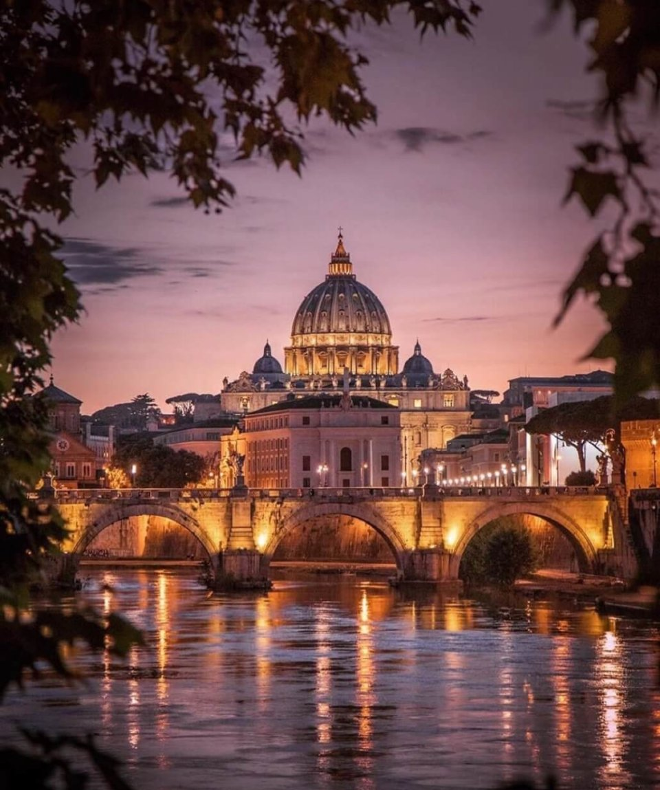 Ватикан на закате